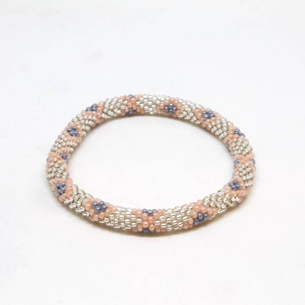 Aid Through Trade Papaya Punch Bracelet - 6