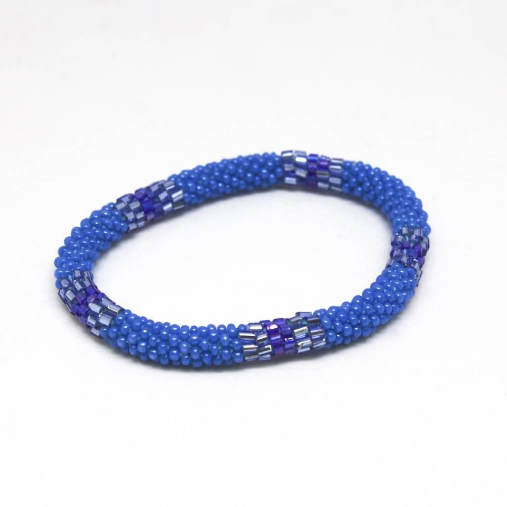Aid Through Trade Blue Lagoon Bracelet - 6