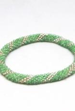 Aid Through Trade Lily Pad Bracelet - 12
