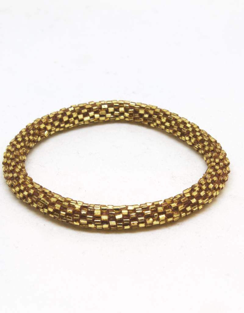 Aid Through Trade Mocha Bracelet - 4