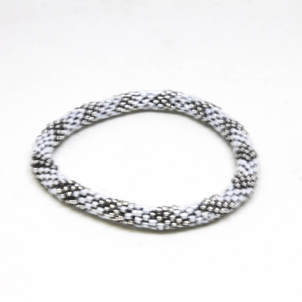Aid Through Trade Platinum Bracelet - 6