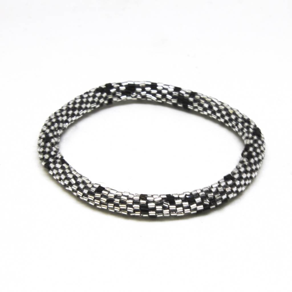 Aid Through Trade Platinum Bracelet - 9