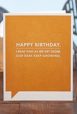 Frank & Funny Growing Ears (Happy Birthday)