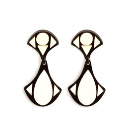 Finn Deco Earrings - Triangle