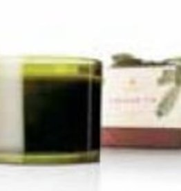 Thymes Frasier Fir Poured Green Glass Candle - 3 Wick