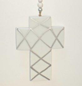 Entouquet Light Teal Cross Hanging