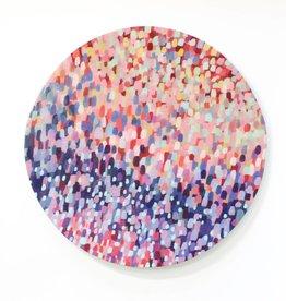 Entouquet Medium Coloured Circle (pointillism)