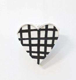 Entouquet Sm. Heart Tile w/ Grid and Sm. Flower Topper