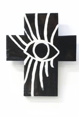 Entouquet SS01696 Black Cross with White Eye Drawing