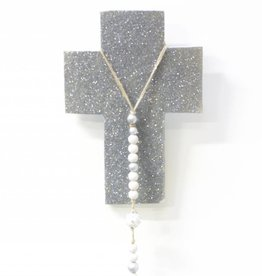 Entouquet Med. Sparkle Cross w/Clay Star Attachment