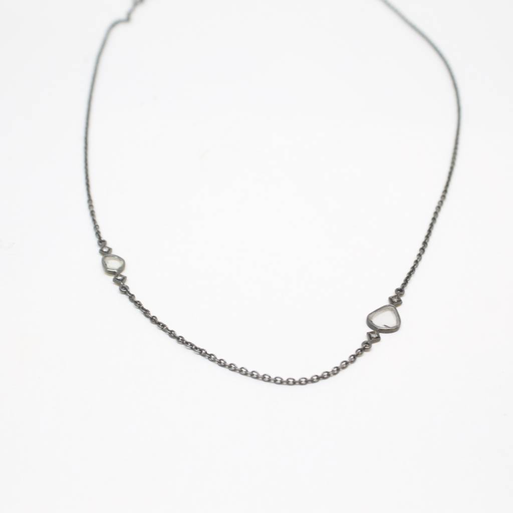 Himatsingka Lucie 2-Diamond Necklace