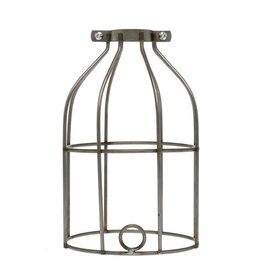 Color Cord Company Industrial Light Bulb Cage - Raw