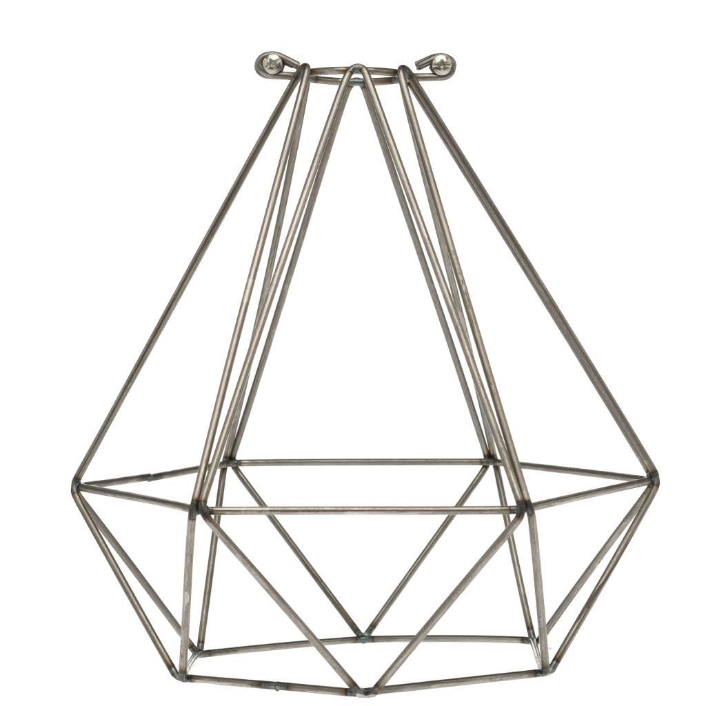Home Decor Kelowna Color Cord Company Geometric Light Bulb Cage Raw Alchemy