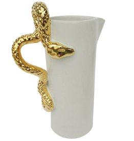 Waylande Gregory Studios Gold Snake Pitcher