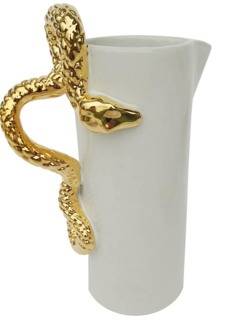 Waylande Gregory Studios Gold Snake Pitcher