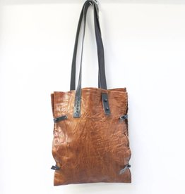 Engso Hand Crafted Double Leather Bag