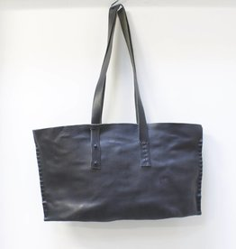 Engso Hand Crafted Wide Leather Bag