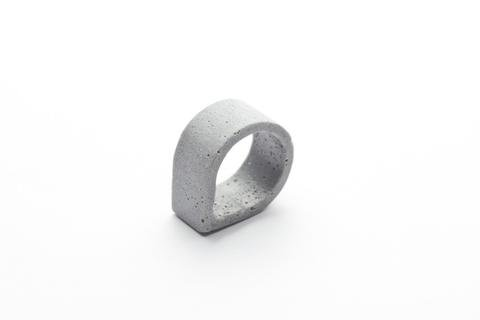 Dconstruct Jewelry Cement Outline Ring - Drop