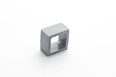 Dconstruct Jewelry Cement Outline Ring - Square