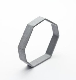 Dconstruct Jewelry Cement Outline Bangle - Octagon