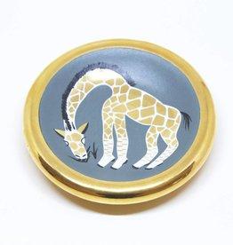 Waylande Gregory Studios Seafoam Giraffe Bullet Bowl