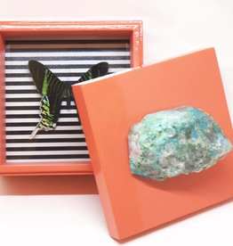 Waylande Gregory Studios Coral Butterfly Box