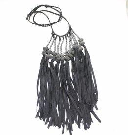 Ann Lightfoot Fringe Necklace