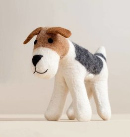 MulXiply Hand Felted Mama Dog