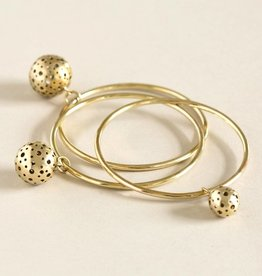 MulXiply Moon Bangle - Brass