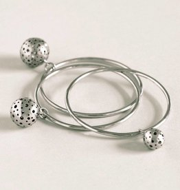 MulXiply Moon Bangle - Sterling Silver