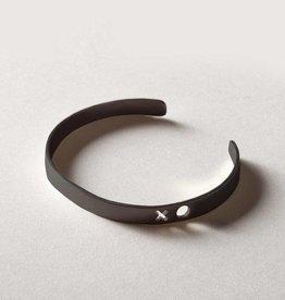 MulXiply XO Punch Cuff - Oxidized Brass