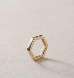 MulXiply Hexagon Ring - Brass