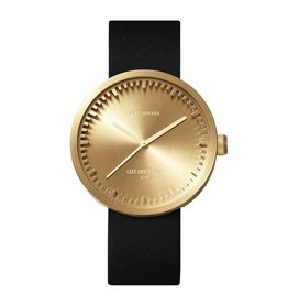 Leff Amsterdam Tube Watch D - Brass