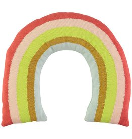 Meri Meri Knitted Rainbow Pillow