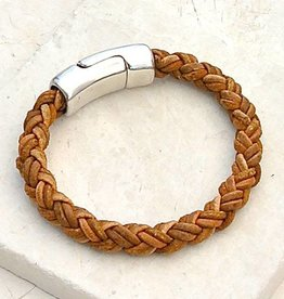 Canoe Light Brown 8 Ply Bracelet