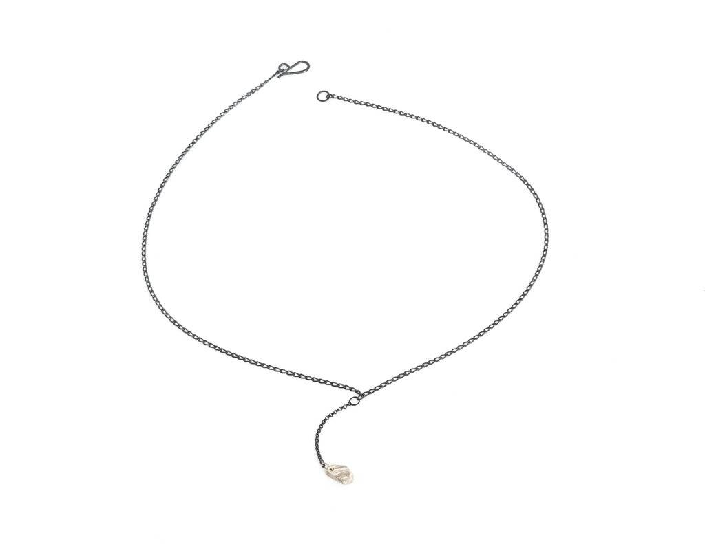 Chikahisa Studio Sterling Silver Small Y Necklace