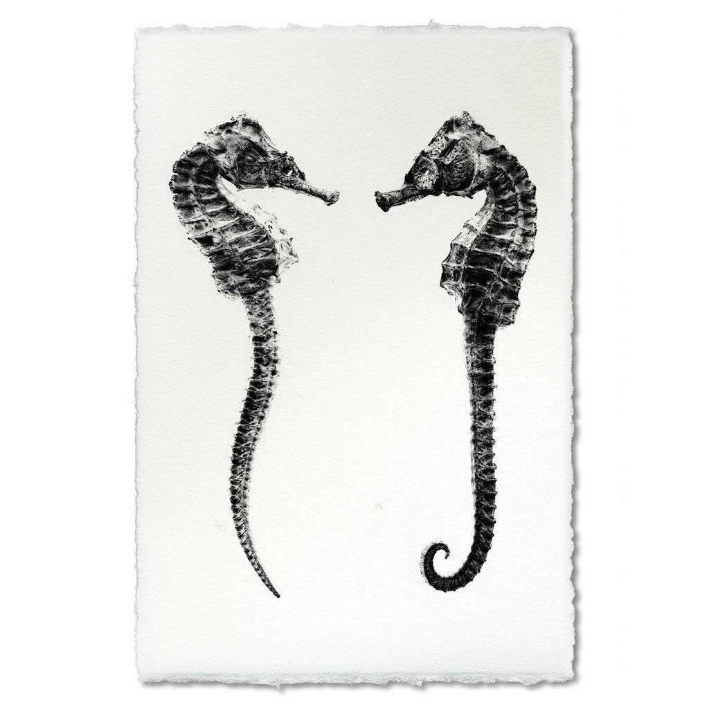 Barloga Studios Double Seahorse Print