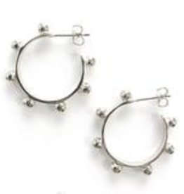 Addison Weeks Hardin Small Hoops - Silver