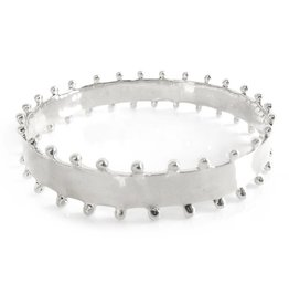 Addison Weeks Carter Bangle - Thick, Silver
