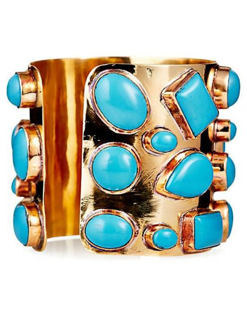 Addison Weeks Bendall Cuff - Blue Turquoise