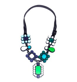 Finn Liz Necklace - Green
