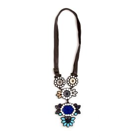 Finn Sofia Necklace - Blue