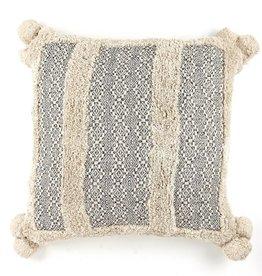Zenza Nomad Pillow - Black - Square