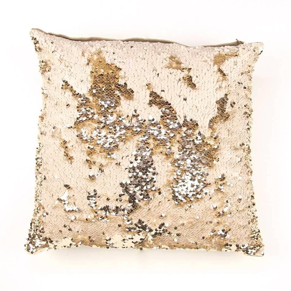 Zenza Dancer Pillow - Gold + Off-White