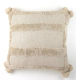 Zenza Nomad Pillow - Natural - Square