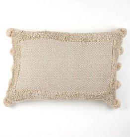 Zenza Nomad Pillow - Natural - Oblong