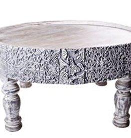 Zenza Nomads Table - Whitewash - Large