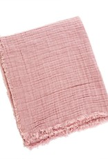 Emmy Linen Throw - Pink