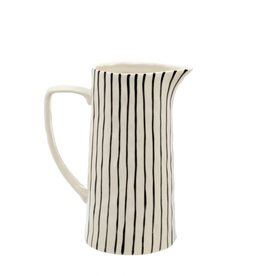 Striped Pitcher - Large