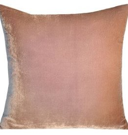 Kevin O'Brien Studio Ombre Silk Velvet Pillow - Champagne